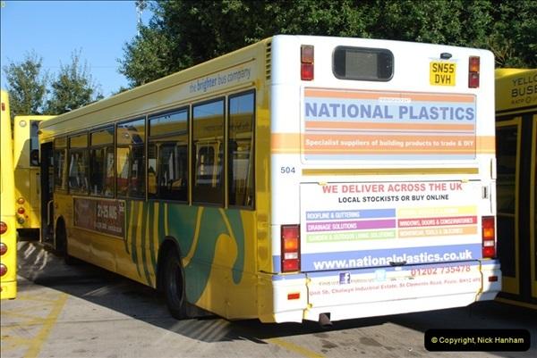 2012-08-26 Yellow Buses Yard Visit.  (103)103
