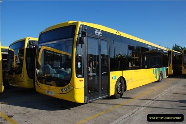 2012-08-26 Yellow Buses Yard Visit.  (157)157