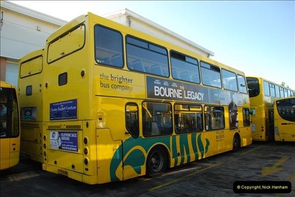 2012-08-26 Yellow Buses Yard Visit.  (201)201