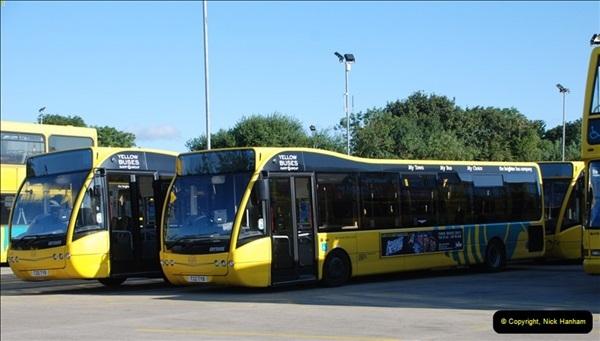 2012-08-26 Yellow Buses Yard Visit.  (207)207