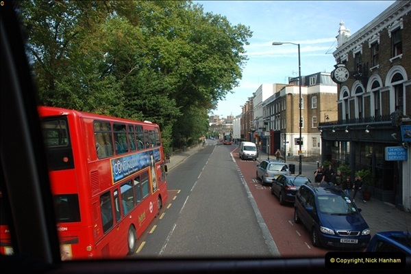 2012-10-07 Ride on LT12 GHT Borismaster. Route 38 Victoria to Hackney Central.  (64)69