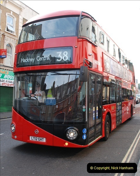 2012-10-07 Ride on LT12 GHT Borismaster. Route 38 Victoria to Hackney Central.  (74)79