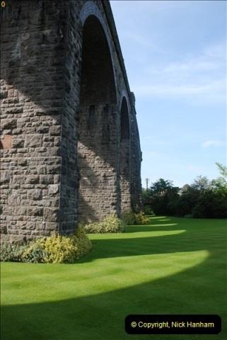 2012-09-06 S&DJR Shepton Mallet Viaduct now part of Kilver Court Gardens.  (4)253