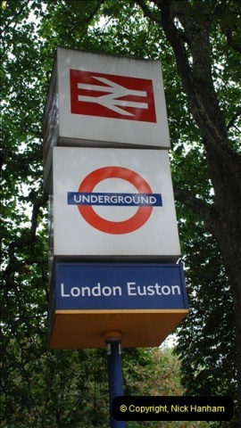 2012-10-07 Euston Station, London.  (2)321