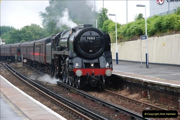 2012-06-21 70013 @ Branksome, Poole, Dorset.  (2)008