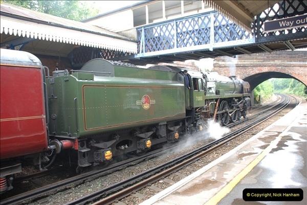 2012-06-21 70013 @ Branksome, Poole, Dorset.  (5)011