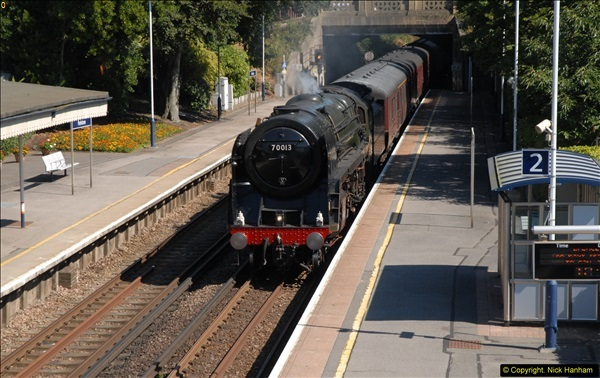 2013-09-04 70013 @ Parkstone, Poole, Dorset.  (3)099