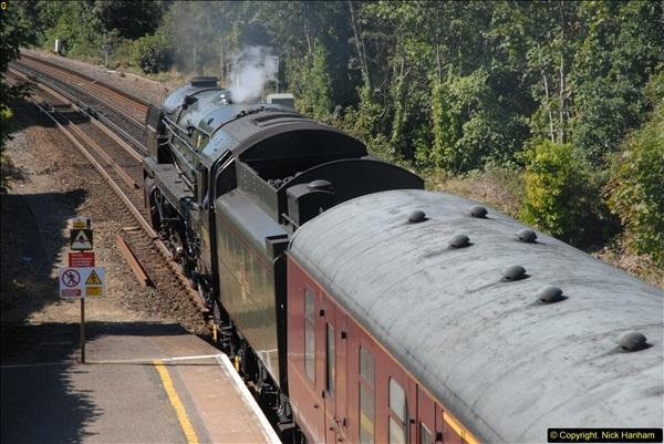 2013-09-04 70013 @ Parkstone, Poole, Dorset.  (6)102