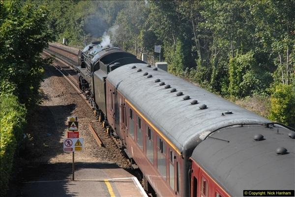 2013-09-04 70013 @ Parkstone, Poole, Dorset.  (7)103