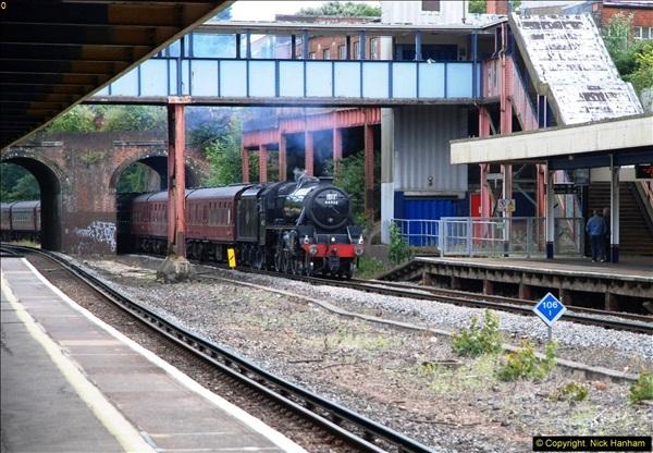 2014-07-05 Black 5 44932 at Pokesdown, Bournemouth, Dorset.  (2)194