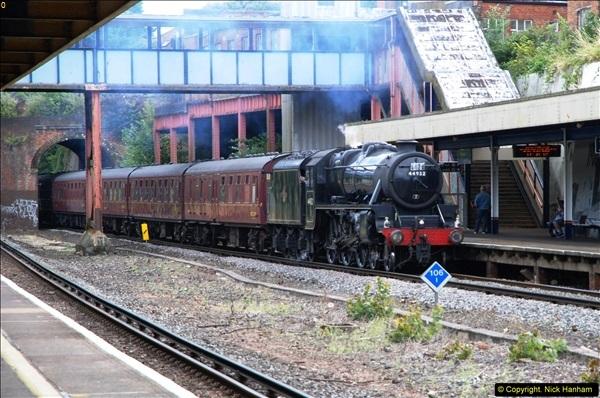 2014-07-05 Black 5 44932 at Pokesdown, Bournemouth, Dorset.  (3)195