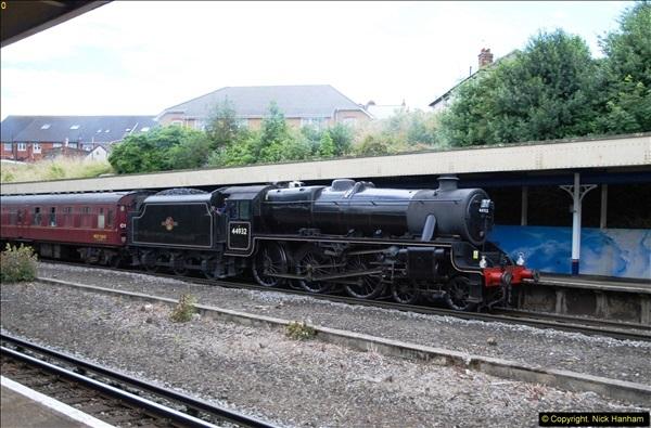 2014-07-05 Black 5 44932 at Pokesdown, Bournemouth, Dorset.  (6)198