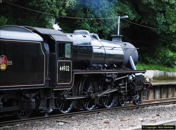2014-07-05 Black 5 44932 at Pokesdown, Bournemouth, Dorset.  (13)205