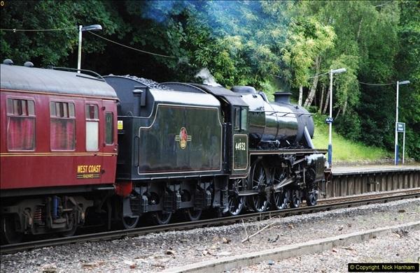 2014-07-05 Black 5 44932 at Pokesdown, Bournemouth, Dorset.  (16)208