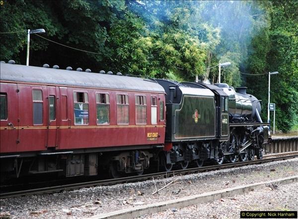 2014-07-05 Black 5 44932 at Pokesdown, Bournemouth, Dorset.  (18)210