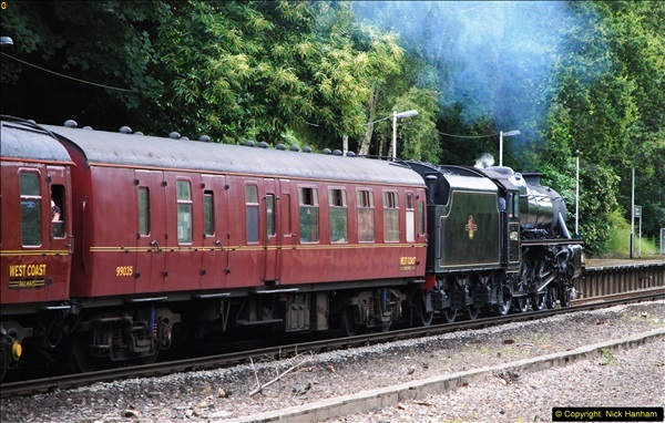 2014-07-05 Black 5 44932 at Pokesdown, Bournemouth, Dorset.  (20)212