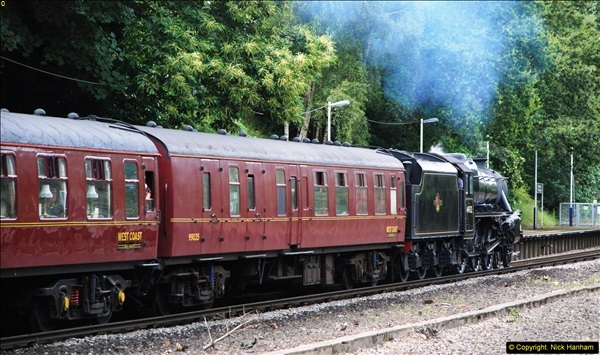 2014-07-05 Black 5 44932 at Pokesdown, Bournemouth, Dorset.  (21)213