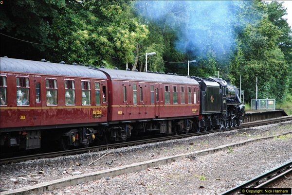2014-07-05 Black 5 44932 at Pokesdown, Bournemouth, Dorset.  (22)214