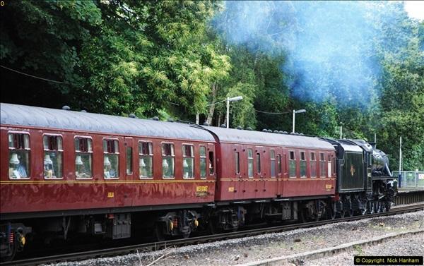 2014-07-05 Black 5 44932 at Pokesdown, Bournemouth, Dorset.  (23)215