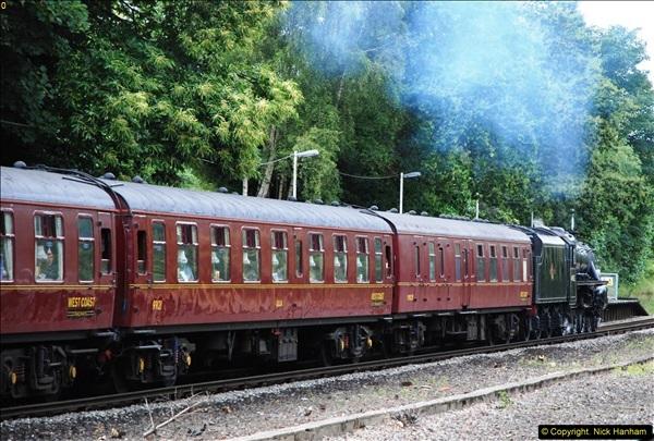2014-07-05 Black 5 44932 at Pokesdown, Bournemouth, Dorset.  (25)217