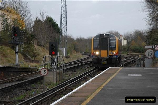 2012-11-22 Branksome Station, Poole, Dorset.  (9)046