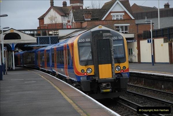 2012-11-22 Branksome Station, Poole, Dorset.  (11)048