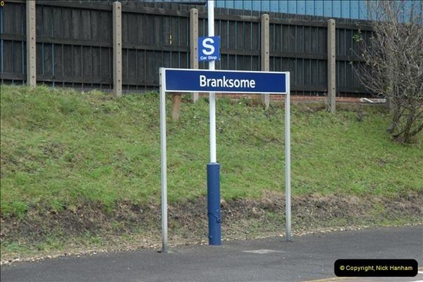 2012-11-22 Branksome Station, Poole, Dorset.  (14)051