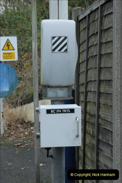 2012-11-22 Branksome Station, Poole, Dorset.  (17)054
