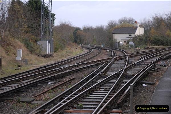 2012-11-22 Branksome Station, Poole, Dorset.  (29)066