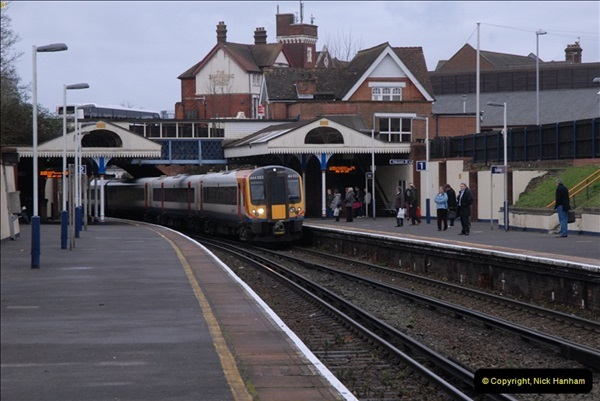 2012-11-22 Branksome Station, Poole, Dorset.  (33)070