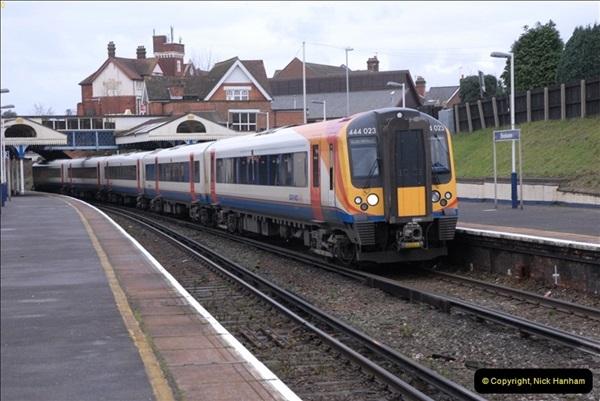 2012-11-22 Branksome Station, Poole, Dorset.  (34)071