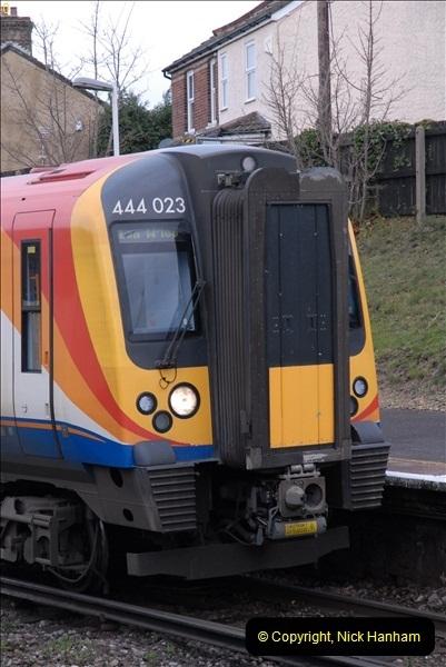 2012-11-22 Branksome Station, Poole, Dorset.  (35)072