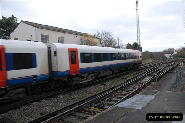 2012-11-22 Branksome Station, Poole, Dorset.  (36)073
