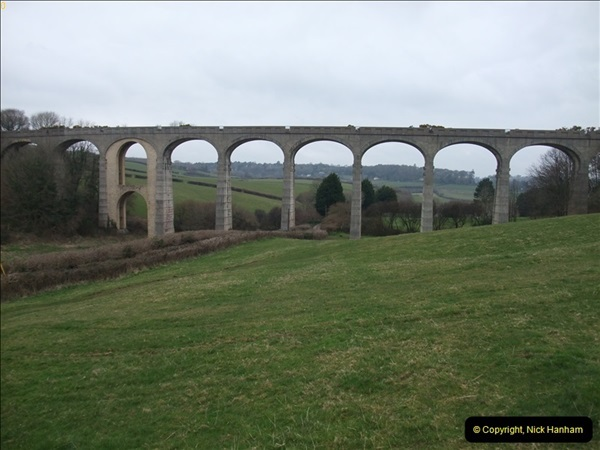 2013-03-01 Cannington Viaduct, Lyme Regis Branch, Dorset.  (2)085