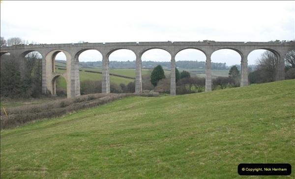 2013-03-01 Cannington Viaduct, Lyme Regis Branch, Dorset.  (3)086