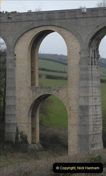 2013-03-01 Cannington Viaduct, Lyme Regis Branch, Dorset.  (6)089