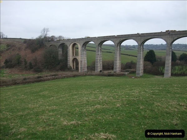 2013-03-01 Cannington Viaduct, Lyme Regis Branch, Dorset.  (8)091