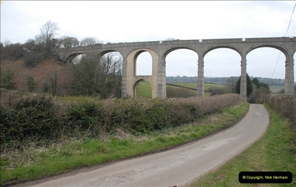 2013-03-01 Cannington Viaduct, Lyme Regis Branch, Dorset.  (11)094