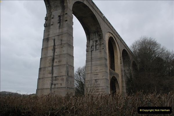 2013-03-01 Cannington Viaduct, Lyme Regis Branch, Dorset.  (15)098