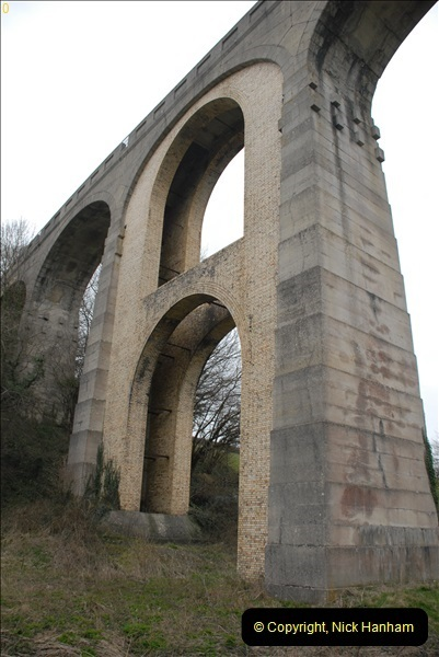 2013-03-01 Cannington Viaduct, Lyme Regis Branch, Dorset.  (16)099