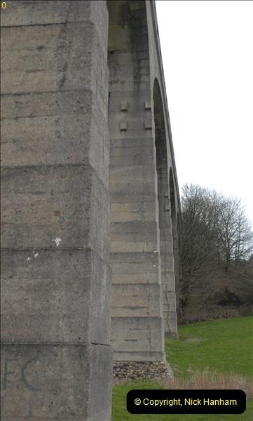 2013-03-01 Cannington Viaduct, Lyme Regis Branch, Dorset.  (19)102