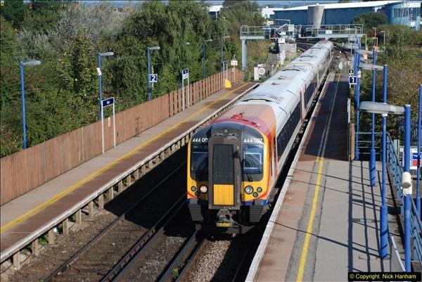 2013-10-15 Poole Station, Poole, Dorset.  (2)166