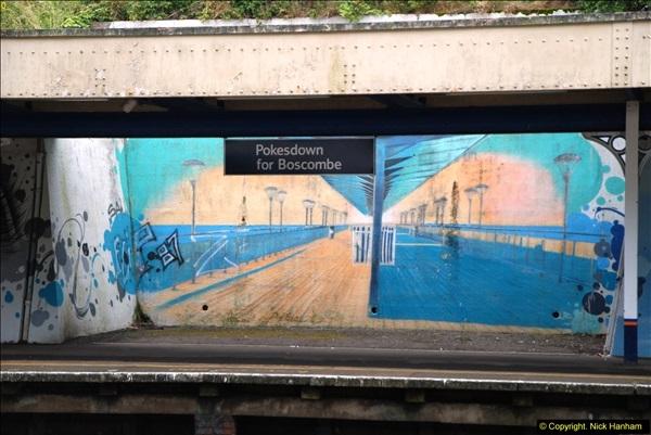 2014-07-05 Pokesdown Station, Bournemouth, Dorset.  (21)260
