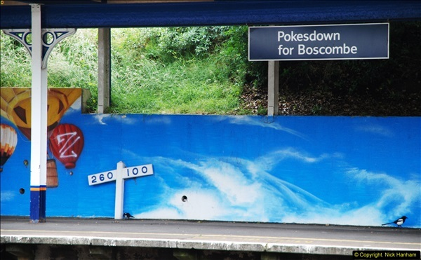 2014-07-05 Pokesdown Station, Bournemouth, Dorset.  (22)261