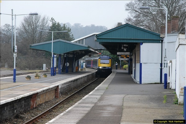 2014-01-30 Yeovil Pen Mill Station, Yeovil, Dorset.  (5)130