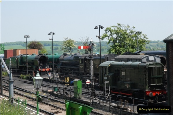 2013-06-06 Mid Hants Railway, Ropley, Hampshire.  (4)