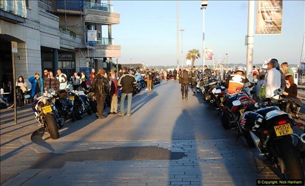 2014-09-02 Biker's Night on Poole Quay.  (140)140