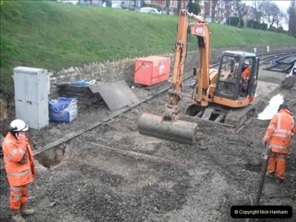 2012-01-30 SR Engineering Work on the 08.  (52)0258