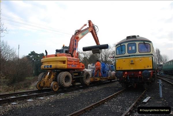 2012-01-31 SR Engineering Work on the 08.  (49)0338