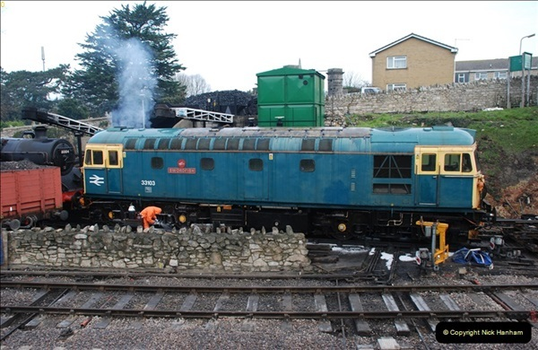 2012-01-31 SR Engineering Work on the 08.  (60)0349